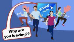 Alasan Mengapa Pengunjung Meninggalkan Website Anda